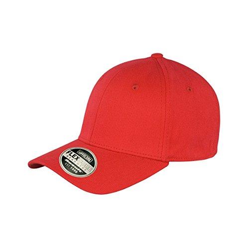 result core kansas 成人纯色英伦风棒球帽 (均码) (红色)