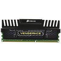 Corsair Vengeance 8GB (1x8GB) DDR3 1600 MHz (PC3 12800) Desktop Memory (CMZ8GX3M1A1600C10)