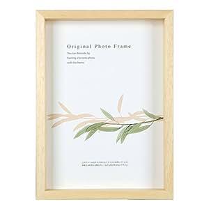 A.P.J. 艺术框架(高50mm) 30角尺寸(300×300mm) 橡木 parent サイズ:30×30cm 自然色