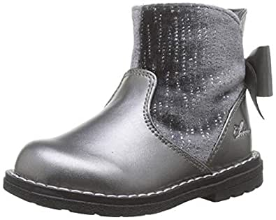 Chicco 女童 Tronchetto Corry 靴,灰色(Acciaio 080),12-18 MESI UK