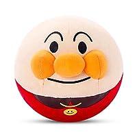 可爱面包超人 毛绒玩具跳跳球玩偶布偶公仔 创意儿童生日礼物 升级100首歌曲【学说话,充电款】