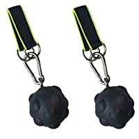 AmazeFan 摇滚攀岩带拉伸力球,耐用,防滑手部力量训练器适合成人,握力强,调理,卵石,上拉,健身锻炼
