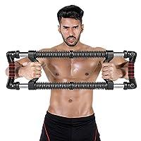 下推杆机 家庭锻炼设备 上身锻炼 胸部手臂健身 Pectoralis Deltoid 训练肌肉肩部加强器 70-220LBS 双层弹簧阻力锻炼健身套装