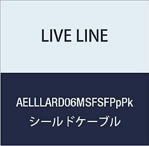 【Live Line】Advance系列 6M S/S插头 红色电缆 S型FIT插头(紫色)-S型FIT插头(粉色) 定制品 AELLLARD06MSFSFPpPk