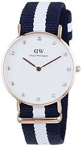 Daniel Wellington 丹尼尔•惠灵顿 瑞典品牌 摩登系列 石英女士手表 DW00100078(原型号0953DW)