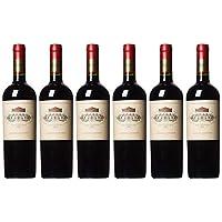 【亚马逊海外直采】Vina Errazuriz 伊拉苏 特级珍藏赤霞珠干红葡萄酒750ml*6 (智利进口红酒)