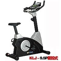 正品康乐佳健身车KLJ-9.5立式商用磁控静音室内运动脚踏车