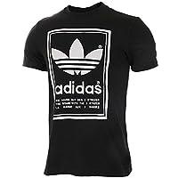 Adidas阿迪达斯三叶草男装2018夏新款运动休闲透气短袖T恤BP6154 BP6154 46/S(175/92A)