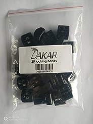 Dakar 锁定头等同于托马斯和贝茨 TYD-LH 或 CSS-LH,防风雨 Acetel,黑色,25 件
