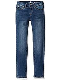 7 For All Mankind 女童修身牛仔裤