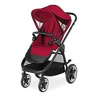 CYBEX 金色 Balios M , 婴儿车 , 系列2018 rebel red