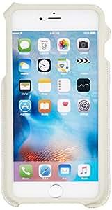 Monocozzi iPhone6 plus/6s plus 软皮卡槽式保护套 苹果仿皮插卡皮套 米色/粉红