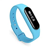 Fitness Tracker Squeen S1 步计数器*监视器带呼叫短信提醒,适用于 Android/IOS