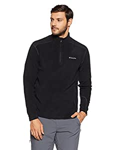 Columbia Men's Klamath Range II Half Zip Fleece - Black, 2X-Large