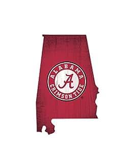 Fan Creations NCAA 木牌 30.48 厘米州形设计 Alabama Crimson Tide unknown