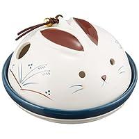 蚊香器 兔子蚊香(平型) [陶 器] [高 10 x 宽15cm] 纳凉 室内装饰 可爱 凉爽 夏天