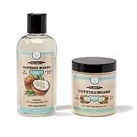 Clarks 椰子切菜板油和蠟(2件裝)  采用精制椰子油,天然蜂蠟和巴西棕櫚蠟   不含礦物油