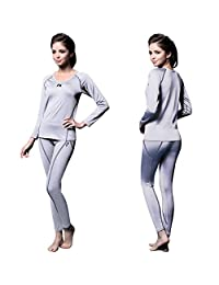 FITEXTREME 女式 MAXHEAT 压缩性能长款紧身裤 保暖内衣
