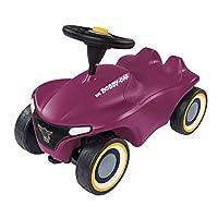 BIG Spielwarenfabrik 800056244 Bobby-Car-Neo Aubergine Rutschfahrzeug für drinnen und draußen, Kinderfahrzeug 带耳语轮胎 现代设计 适合 1 岁以上儿童,紫色