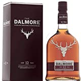 Dalmore 大摩 12年苏格兰单一麦芽威士忌 12YO Highland Single Malt Whisky 40%vol 700毫升 英国进口 洋酒