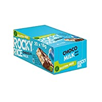 Benlian Rocky Rice Cake Bar with Milk Chocolate, 1er Pack (1 x 360 g)