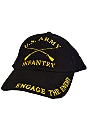 EagleEmblems 男式美国*步兵刺绣球帽