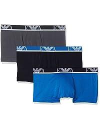 Emporio Armani 安普里奥·阿玛尼 男式平角内裤 3 件套装