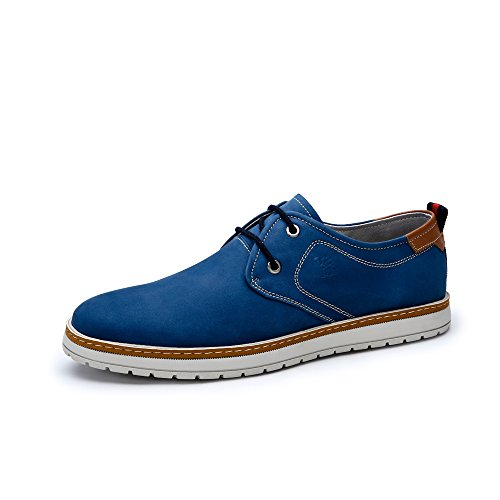 Camel 骆驼 男鞋 日常简约牛皮头层皮耐磨休闲皮鞋 新款