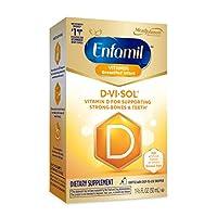 Enfamil 美赞臣铂睿 D-Vi-Sol 婴儿维生素D补充滴剂 50 毫升滴管瓶