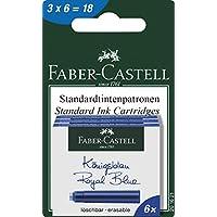 Faber-Castell 201621 墨盒 3 盒,每盒 6 盒