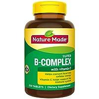 Nature Made B补充剂+维生素C补充剂,250粒