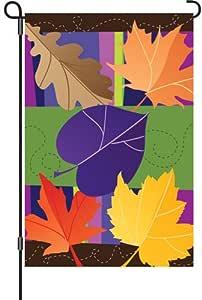 Premier Kites 51871 花园光彩旗,爵叶子,12 x 18 英寸