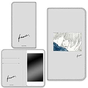 卡丽 壳 双面印刷手册 情侣 智能手机壳 手册式 对应全部机型 カップルD 8_ ZenFone Max (M1) ZB555KL