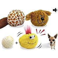 YOGADOG 互动毛绒吱吱吱狗玩具,Crazy Bouncer,电子运动宠物玩具,*机器人