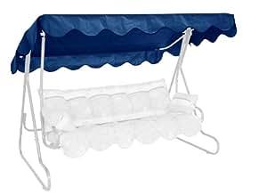 格雷尔天窗适用于好莱坞秋千 PE - 织物 蓝色