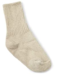 Jefferies Socks 男童校服船袜(6 双装)  卡其色 8-9.5