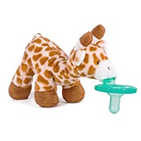 Wubbanub 安抚奶嘴 长颈鹿 秒睡伙伴 哄睡玩偶 明星同款 悬挂式奶嘴 防丢奶嘴 毛绒玩具 0岁+ 92352