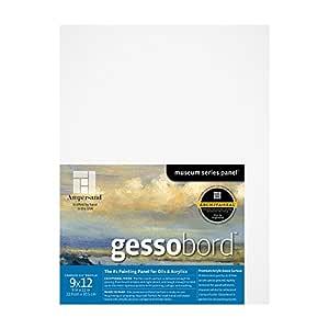 Ampersand Gessobord 适用于亚克力、油和混合介质 1.5 Inch Cradle 9X12 GBSCG0912