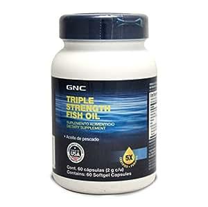 GNC 健安喜浓缩鱼油软胶囊 60粒/瓶 (进口) (特)