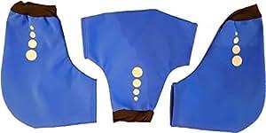 Crewroom 雕塑和划痕 - 宝蓝色,均码