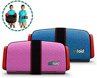 mifold Grab-and-Go Booster 汽车儿童座椅 pink & blau