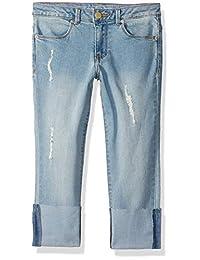 Calvin Klein 女童男友牛仔裤