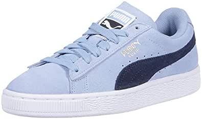 PUMA 彪马 女士 麂皮经典运动鞋 Cerulean-peacoat 5.5