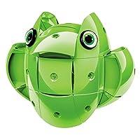 YOUR MOON 儿童启蒙奇趣 磁力蛋 玩具 创意拼插 磁力积木 百变旋转安全智慧球 (四色可选) (绿色)