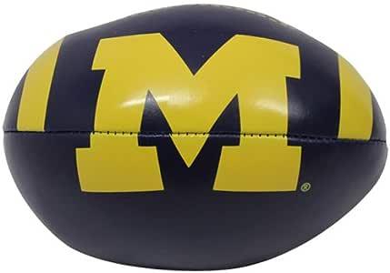 NCAA 密歇根金刚狼队 4 英寸快速投掷软球足球