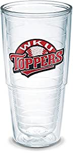 Tervis Western Kentucky Toppers Emblem Individual Tumbler, 24 oz, Clear
