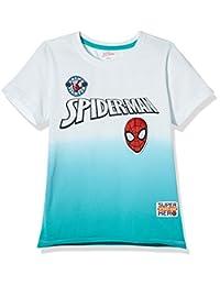 Disney 迪士尼童装 男童 针织短袖T恤 KSP8M1KTKB2705XG