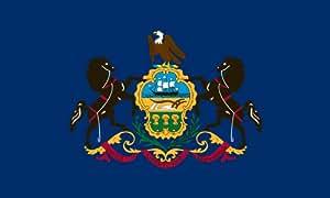 Heath Outdoor Products 58039 5 英尺 x 8 英尺宾夕法尼亚州旗帜