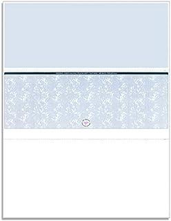 NextSecure 空白 - 非印刷 - 激光/喷墨检查,每包 500 张(蓝色中心)