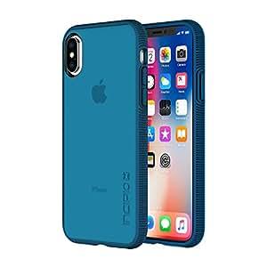 Incipio Octane iPhone X 手机壳纹理缓冲硬壳背部 iPhone X -IPH-1632-NVY *蓝